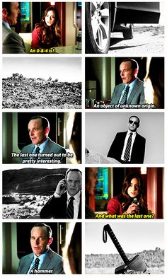 What is an 0-8-4? Marvel's Agents Of Shield.