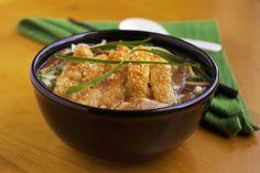 Katsu Chicken Udon Noodle Soup