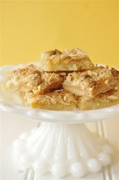 Lemon Curd bars- using Trader Joe's Lemon Curd.