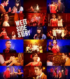 Glee's West Side Story... This was kind of great! (My two favorite things- west side story and Glee!)