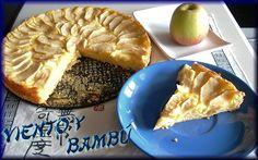 viento y bambú: Tarta de manzana
