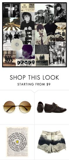 """Love me do."" by superperson404 ❤ liked on Polyvore featuring George, HARRISON, Kensie and Forever 21"