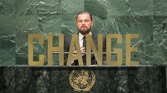 Leonardo DiCaprio's UN speech on climate change. We are also known as SpartanHearts!  Website - http://www.spartanhearts.com/ Our Facebook page - https://www.facebook.com/TheSpartanHeart
