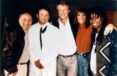 Robin Williams, Mel Brooks, Mike Nichols, Marlo Thomas & Whoopi Goldberg, 1988