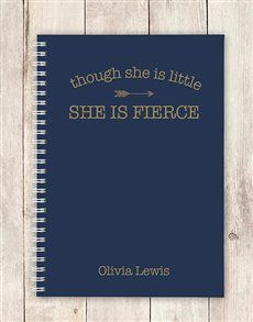 Don't let her size fool you. She may be little but she is fierce! Have this personalised stationery gift for her delivered to someone who would relate to the text. Personalized Stationery, Personalized Gifts, Womens Day Gift Ideas, Same Day Delivery Service, She Is Fierce, Ladies Day, Texts, Gifts For Her, Notebook