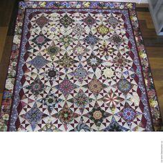"""Купить Одеяло """"Восторг"""" - комбинированный, одеяло пэчворк, одеяло, оригинальный подарок, подарок на любой случай"""