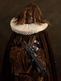chewbacca flemish art star wars Vitoriano