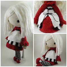 Oscar Amigurumi Doll Crochet Pattern PDF by CarmenRent on Etsy Crochet Amigurumi, Crochet Bunny, Cute Crochet, Amigurumi Doll, Knitted Dolls, Crochet Dolls, Crochet Yarn, Crochet Mignon, Yarn Colors