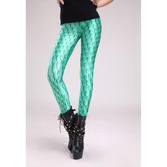 Sexy Stretch bedruckte Leggings mit Schuppen Motiv gruen #Wetlook #Glanz #Leggings #Leggins #Legings #Legins #Hose #Schuppen #gruen #Taillenhose 16.90 EUR inkl. 19% MwSt. zzgl. Versand