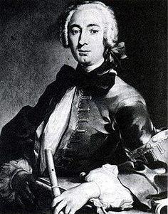Johann Joachim Quantz (Oberscheden, Baja Sajonia, 30 de enero de 1697 — Potsdam, 12 de julio de 1773), fue un compositor y flautista alemán, además de profesor de flauta del rey Federico II de Prusia.  Empezó a demostrar su talento musical a muy temprana edad. A los 8 años ya tocaba el contrabajo en festivales locales. En 1708, al morir su padre, herrero de profesión, se fue a vivir a casa de su tío Justus Quantz, miembro de la orquesta de la ciudad de Merseburg, con el que comenzó sus…
