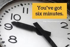 Writing prompts: you've got six minutes #amwriting #flashfiction #writing