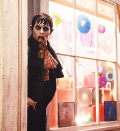Johnny Depp as Barnabas Collins in Dark Shadows. Costume by Colleen Atwood