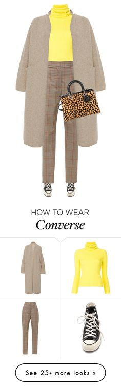 """""""Untitled #1726"""" by joaomaria-garcia on Polyvore featuring Converse, Simon Miller, Zimmermann and Christian Dior"""