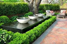 water vessels for backyard gardens ! Large water vessels for backyard gardens ! The post Large water vessels for backyard gardens ! appeared first on Architecture Decor. Modern Water Feature, Diy Water Feature, Backyard Water Feature, Large Water Features, Water Features In The Garden, Outdoor Water Features, Back Gardens, Small Gardens, Exterior Colonial