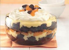 chocolate orange punch bowl cake