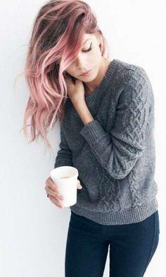 Tendencias en tintes de pelo 2016: Ombre hair rosa pastel (Foto 12/20) | Ella Hoy