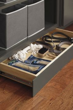 Bring a practical storage solution to a previously unutilized space, the Toekick Drawer is great for stowing away flat items that aren& often used. Cabinet Door Styles, Cabinet Doors, Thomasville Cabinetry, Vanity Drawers, Stow Away, Kitchen Organization, Storage Solutions, Master Bathroom, Home Remodeling
