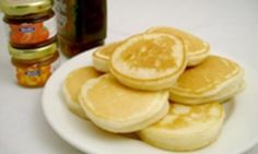 Great for lunch boxes, after school snacks and something-different-for-breakfast days these gluten-free pikelets are really quick and easy to make. Serve with butter, jam, honey or maple syrup!