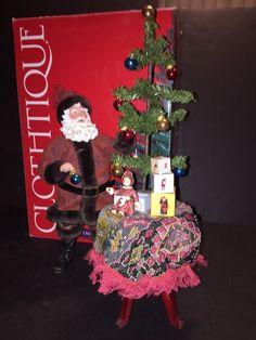 Victorian Tree Trimmer Possible Dreams Clothtique Christmas Santa Clause #PossibleDreams
