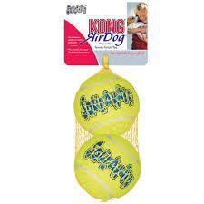 Kong Air Kong Squeaker Large Tennis Balls - 2 Pack