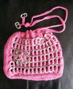 215 Beste Afbeeldingen Van Bliklipjes Crochet Purses Crochet Bags