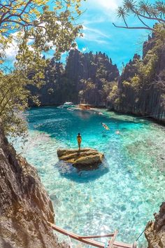 Twin Lagoon @ Coron, Philippines