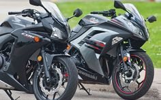 Comparison Test: Honda CBR500R vs Kawasaki Ninja 300 - Comparative Tests - Honda Sport - Kawasaki Street/Touring - Cycle Canada