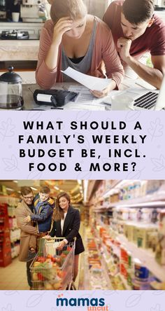 What should a family's weekly budget be for everything from clothing and diapers to gas and groceries? An expert weighs in with great budgeting advice.