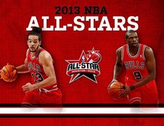 6878350f2ae Joakim Noah and Luol Deng have been named Eastern Conference All-Stars!