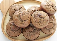Healthy Banana Chocolate Chip Muffins (Whole Grains, Low Sugar) Nut Bread Recipe, Healthy Bread Recipes, Banana Chocolate Chip Muffins, Healthy Toddler Meals, Low Sugar, Chips, Snacks, Meal Ideas, Recipe Ideas
