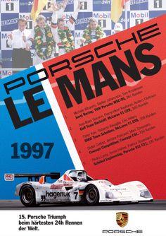 1997 Le Mans Poster