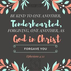 Is it hard for you to be tenderhearted? Do you forgive easily? It can be difficult for me. Let me know what you think! #thisismystory. Http://www.kimberlydewberry.com