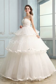 Impressive Sweetheart Neckline Ball Gown Floor Length Sweet 15 Dresses With Three Tiered Skirt