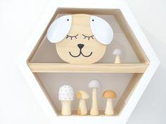 Dougie Dog – Faith Laine Cute Little Puppies, Girl Decor, Wooden Decor, Little People, Scandinavian Style, Minimalist Design, Floating Shelves, Toy Chest, Decor Styles