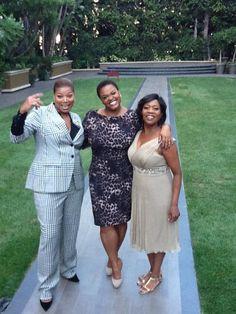 Queen Latifah, Jill Scott, & Alfre Woodard