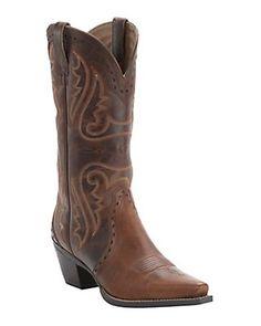 Ariat Ladies Vintage Caramel Heritage X-Toe Western Boot