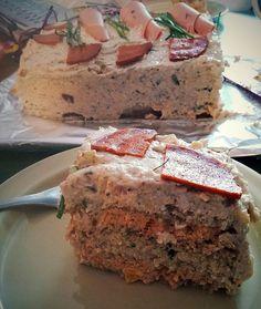 Vegan life: Vegaaninen voileipäkakku