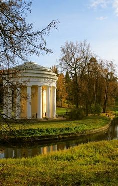 Pavlovsk Park, St. Petersburg, Russia