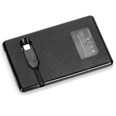 The Credit Card Sized Cell Phone Backup Battery - Hammacher Schlemmer