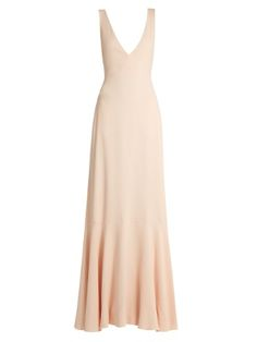 Open tie-back gown | Rochas | MATCHESFASHION.COM UK