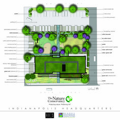 Conceptual Site Plan | Efroymson Conservation Center | The Nature Conservancy of Indiana | Indianapolis, Indiana | Axis Architecture + Interiors and Rundell Ernstberger Associates
