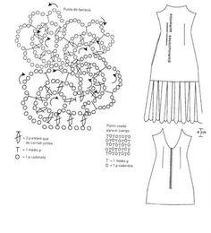 VESTIDO DE NOVIA EN GANCHILLO PASO A PASO | Patrones Crochet, Manualidades y Reciclado