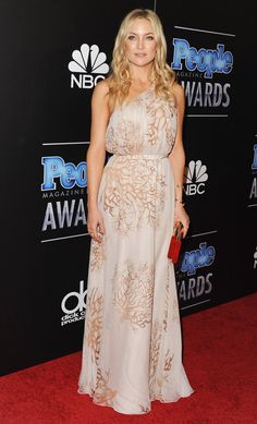 Pin for Later: All the Times Kate Hudson Wore the Sexiest Gown at the Party She Glows in an Ethereal Valentino Print