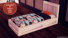 Lana CC Finds - Toddler Charlie Bed