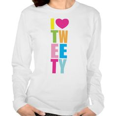 ">>>Cheap Price Guarantee          	Tweety ""I Heart Tweety"" Tshirt           	Tweety ""I Heart Tweety"" Tshirt We have the best promotion for you and if you are interested in the related item or need more information reviews from the x customer who are own of them before please ...Cleck Hot Deals >>> http://www.zazzle.com/tweety_i_heart_tweety_tshirt-235284071313509469?rf=238627982471231924&zbar=1&tc=terrest"