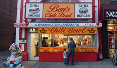 Ben's Chili Bowl | Since 1958 - This is the best place for a late night, greasy chili dog. Even though they've opened other locations now, the original is an adventure in of itself! Bill Cosby proposed to his wife here and it's a favorite place for President Obama.