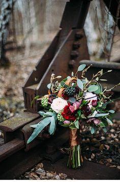 Dark Bride - Hochzeitsromantik im Winter von Carito Photography - Hochzeitsguide