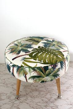 retro footstool - Homeworks Design Store