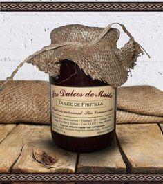 Los Dulces de Maite Dulce de Frutilla Producto artesanal, sin conservantes. Peso Neto: 360 g. Industria Argentina