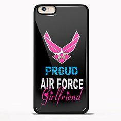 Us Air Force Proud Girlfriend USA Army Design for Samsung Galaxy and Iphone Case (iPhone 6/6S black)